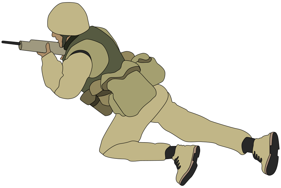 old German soldier Clipart,.