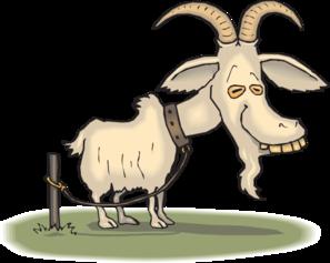 Old Goat Clip art.