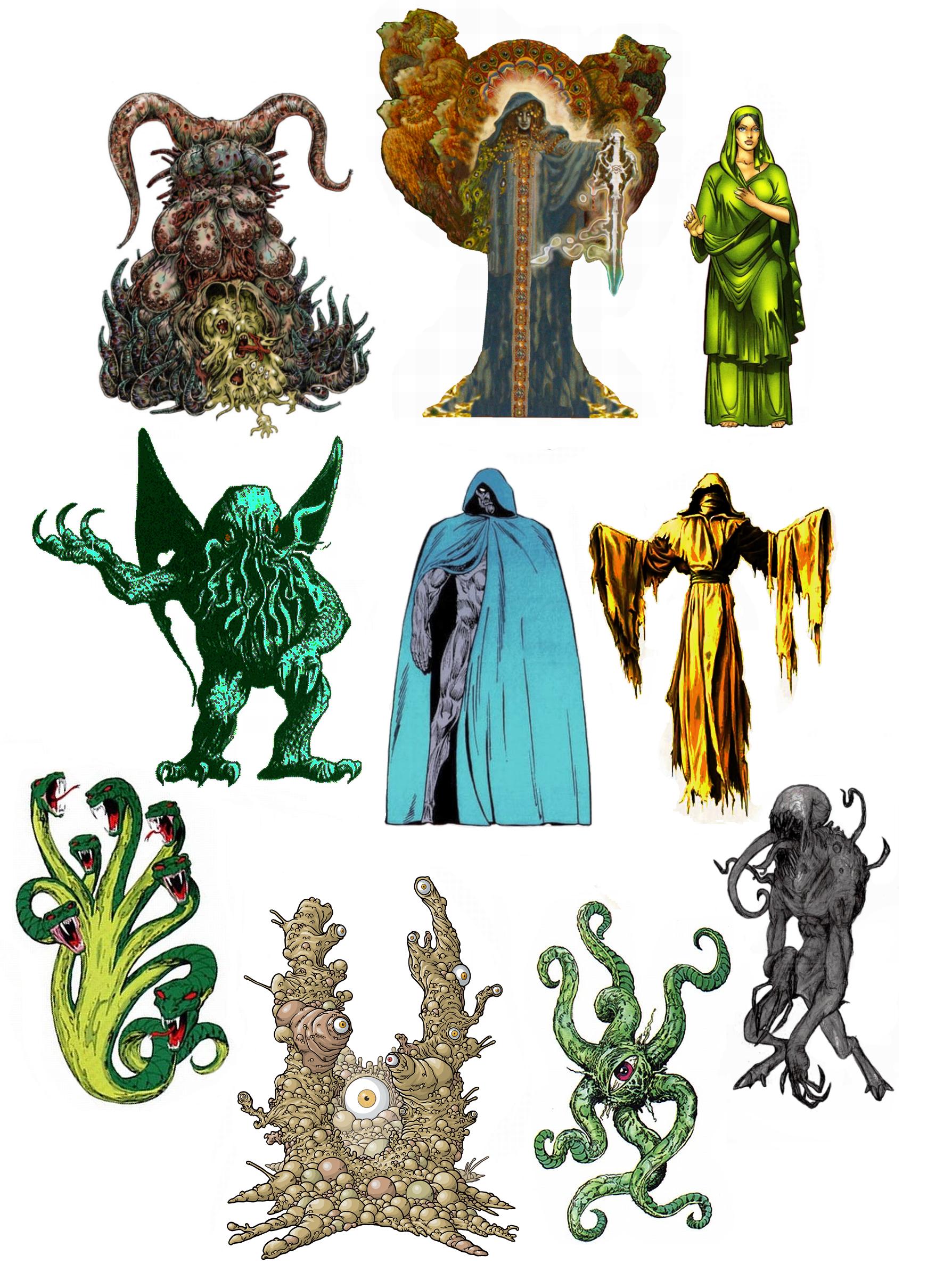 The Celestials vs The Old Gods.