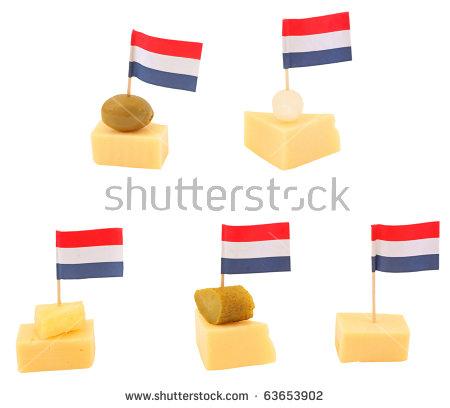 Dutch Flag On A Cheese Stock Photos, Royalty.