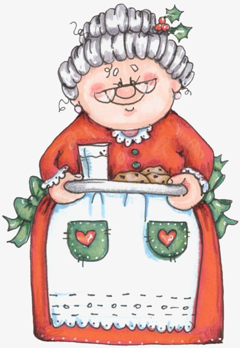 Download Free png Sweet Old Lady, Lady Clipart, Hand Painted.