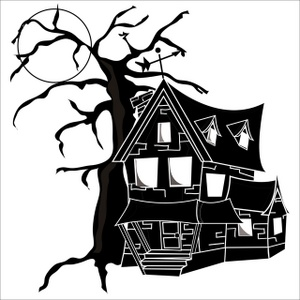 Old House Clip Art.
