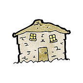 Old house clipart #19