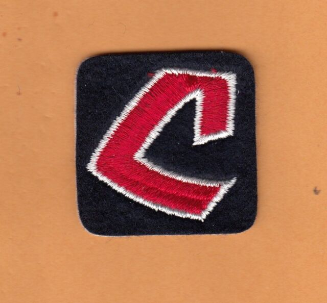 Old Logo 1970\'s Cleveland Indians 2 Inch Patch Unsold Stock.