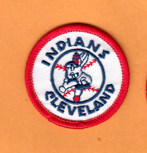 Details about OLD WAHOO LOGO 1970\'s CLEVELAND INDIANS 2 inch PATCH UNSOLD  STOCK.