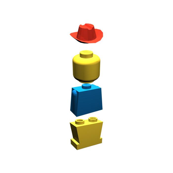 LEGO Legoland Old Type Minifigure Inventory.