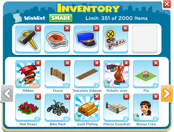 Inventory.