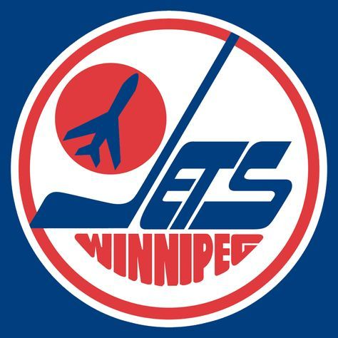 the old winnipeg jets logo.