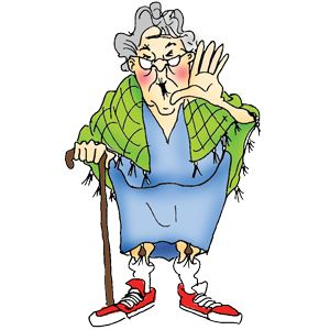 17 Best images about Old Ladies/Men Silly ClipArt on Pinterest.