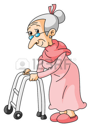 Old lady clipart 3 » Clipart Station.