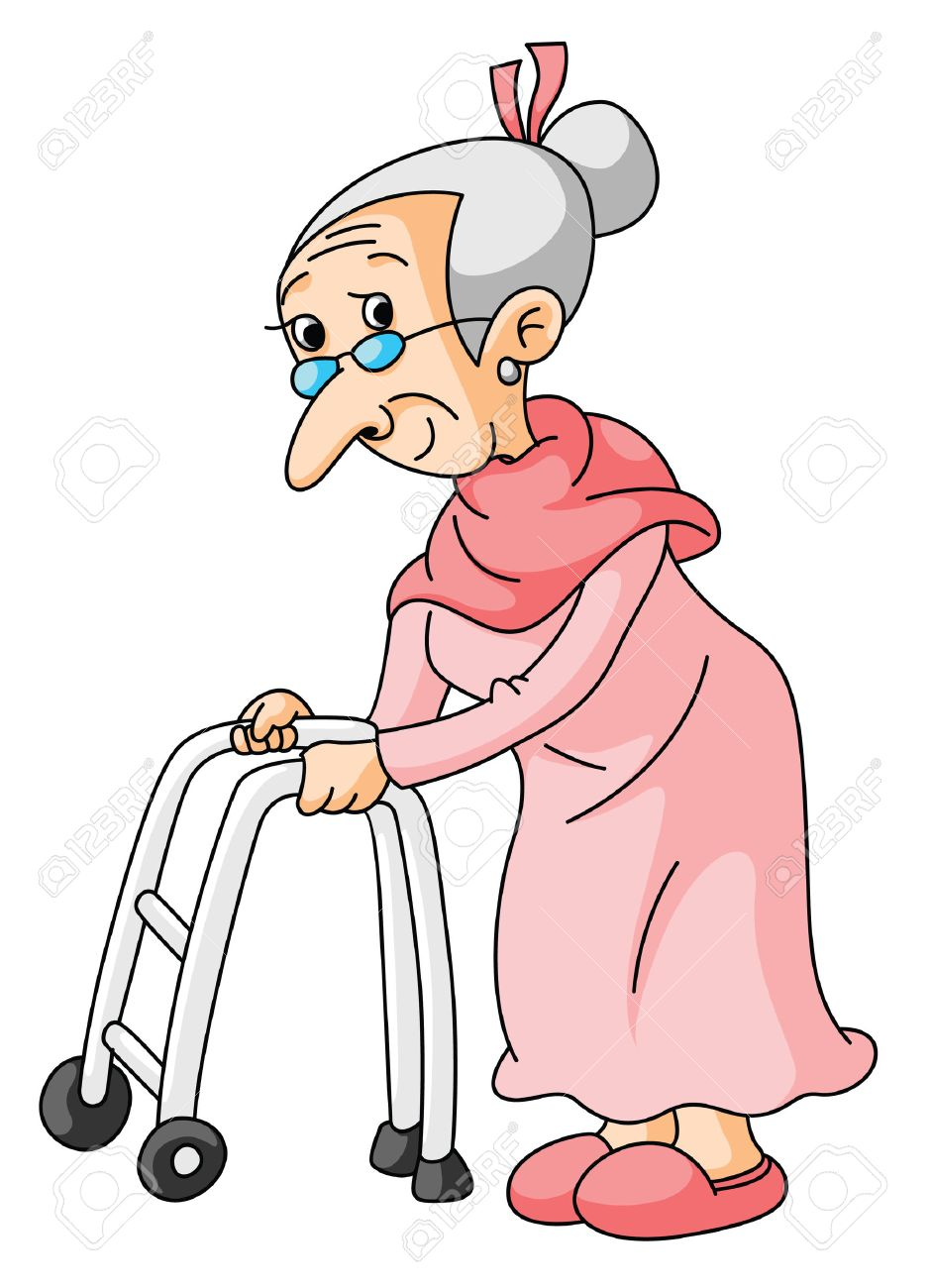 Old Lady Clipart Images.