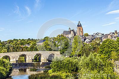 Old Bridge In Wetzlar, Germany Royalty Free Stock Images.