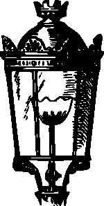 Antique Street Lantern Clip Art at Clker.com.