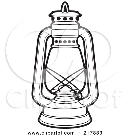 Lantern Clip Art With Camping Clipart