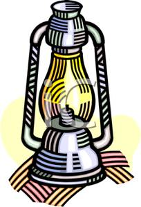 Old Fashioned Lantern Clipart Picture.