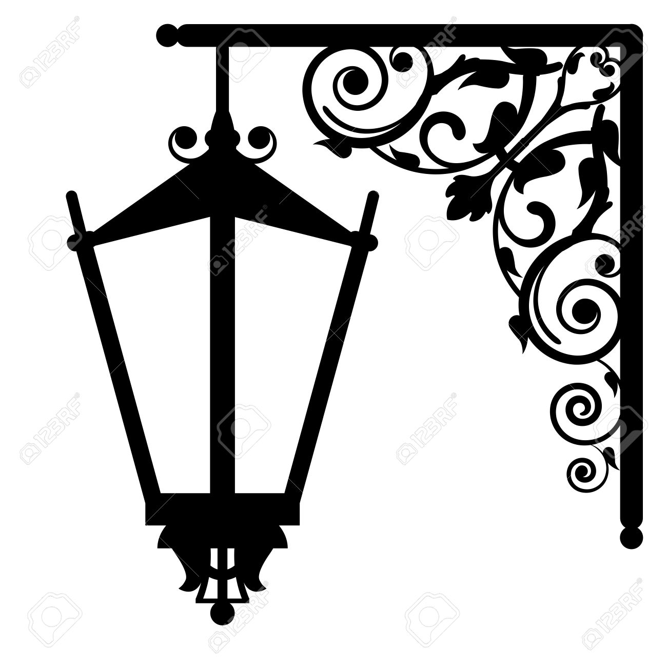 Old lantern clipart - Clipground for Old Lamp Clipart  242xkb
