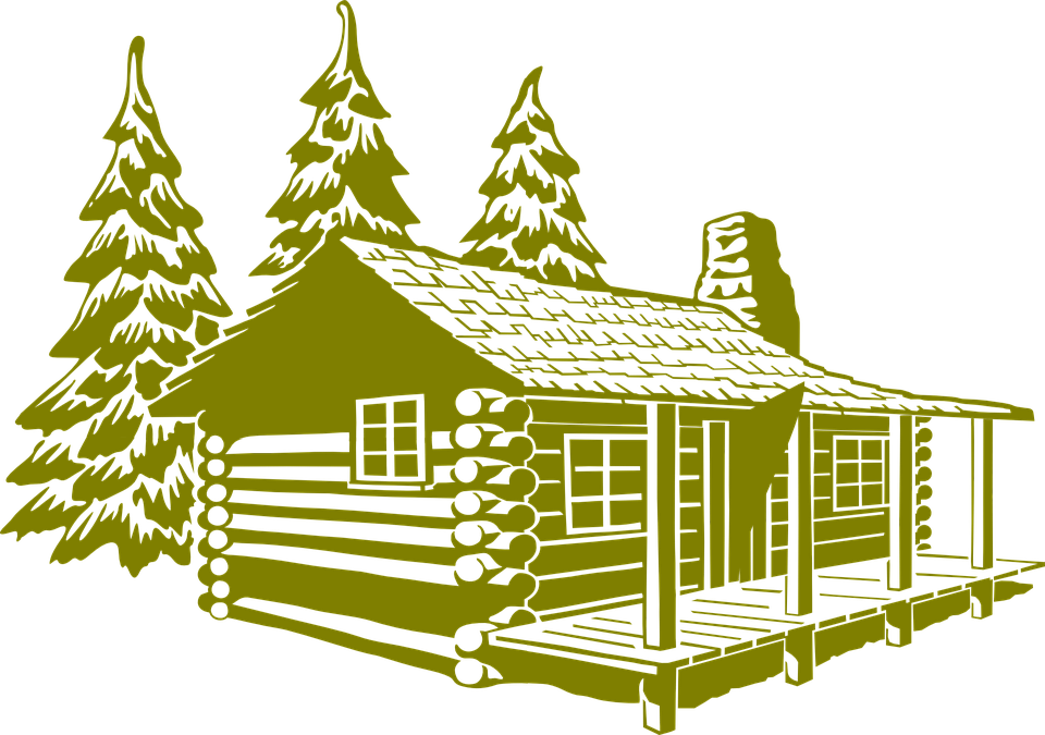 Showing post & media for Cartoon old log cabins.