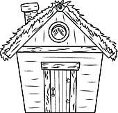 Log cabin Clip Art Royalty Free. 227 log cabin clipart vector EPS.