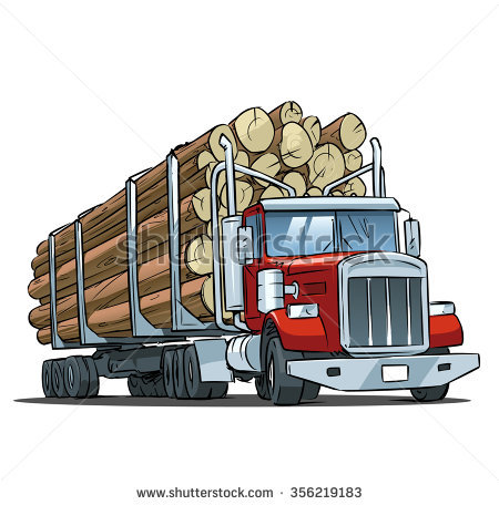 Logging Truck Stock Photos, Royalty.