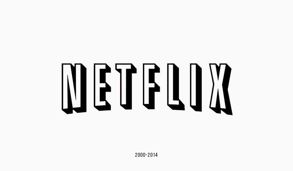 Netflix old logo.