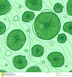 Lotus leaf pattern.