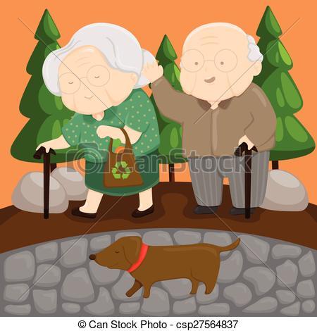 Vectors of Old Love csp27564837.