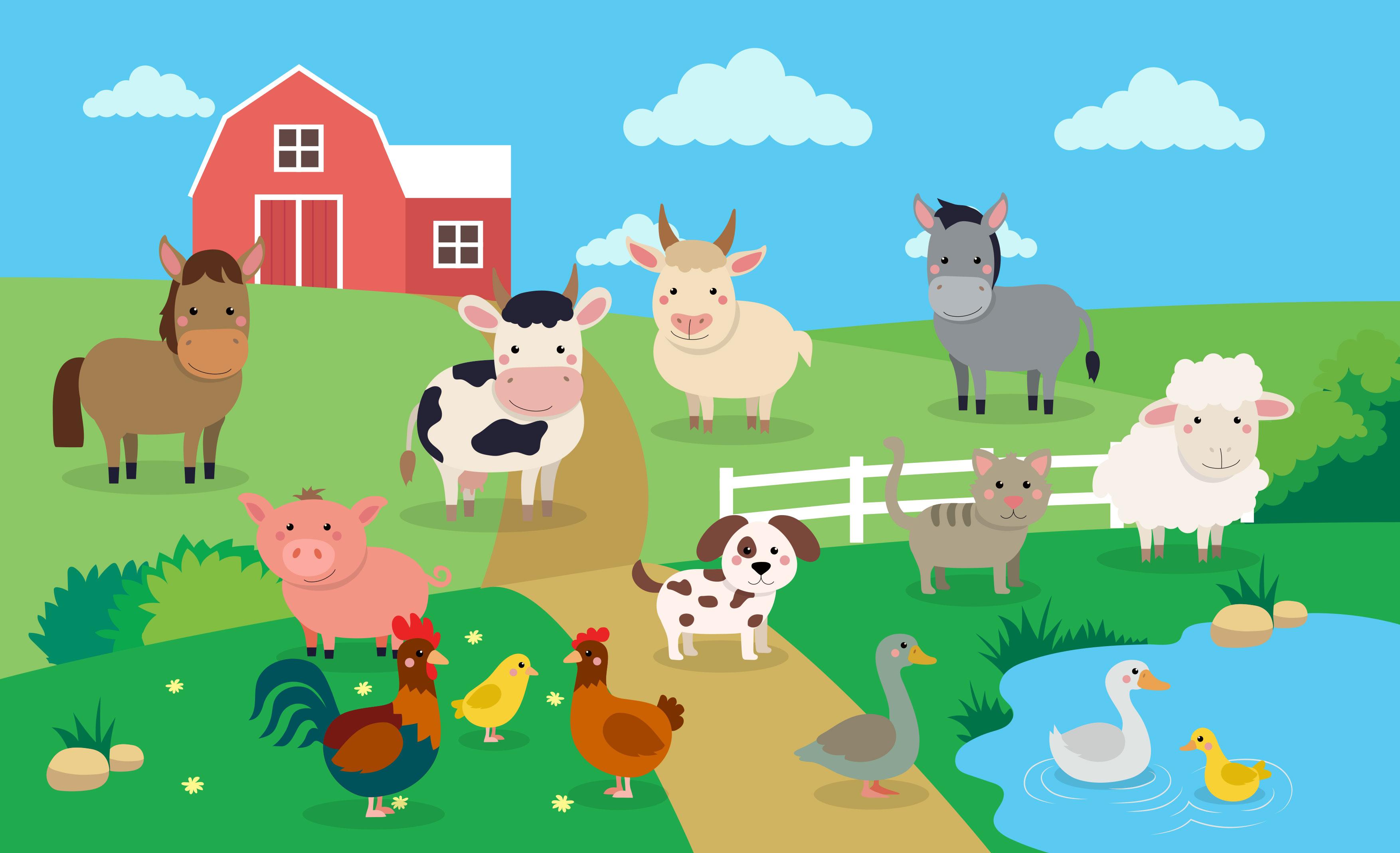Song: Old MacDonald had a Farm.