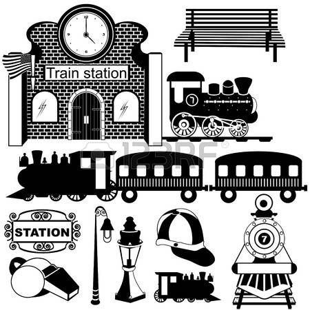 750 Old Railway Station Stock Illustrations, Cliparts And Royalty.