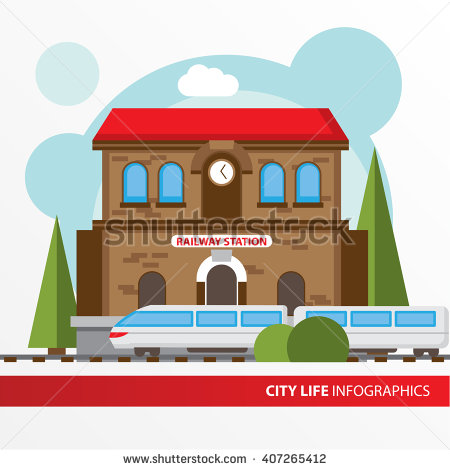 Old Train Station Stock Photos, Royalty.