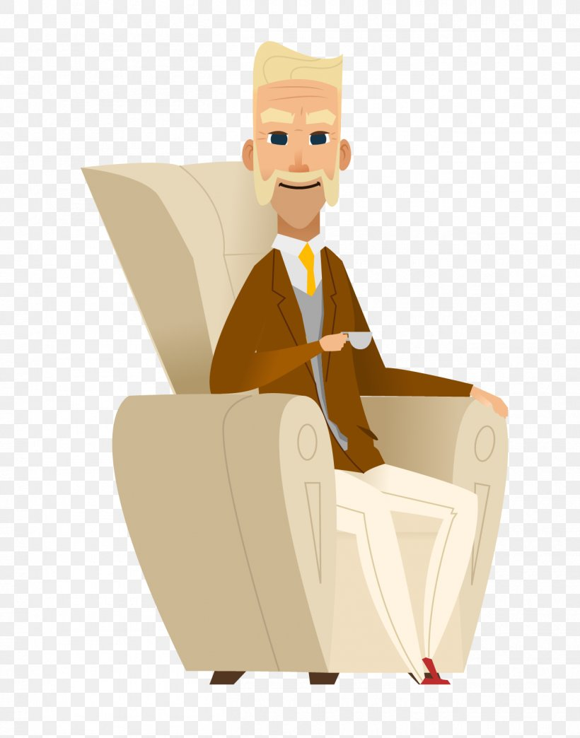 Old Age Illustration, PNG, 1310x1669px, Sitting, Art.