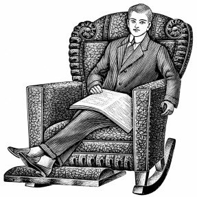 Old Man In Recliner Clip Art Pictures to Pin on Pinterest.