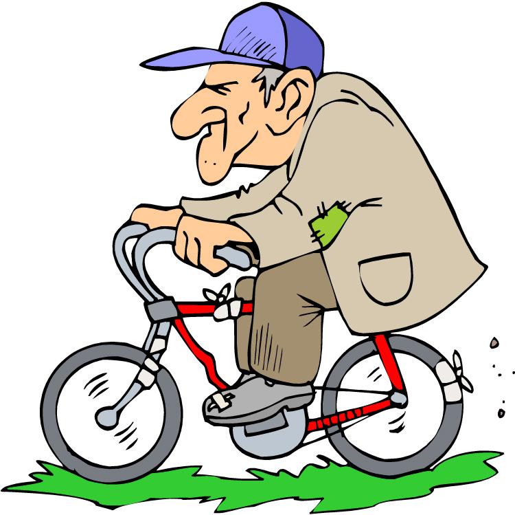 Bike Rider Clipart.