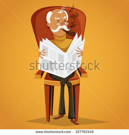 Man Smoking Pipe Stock Images, Royalty.