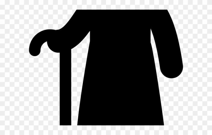 Old Clipart Man Standing.