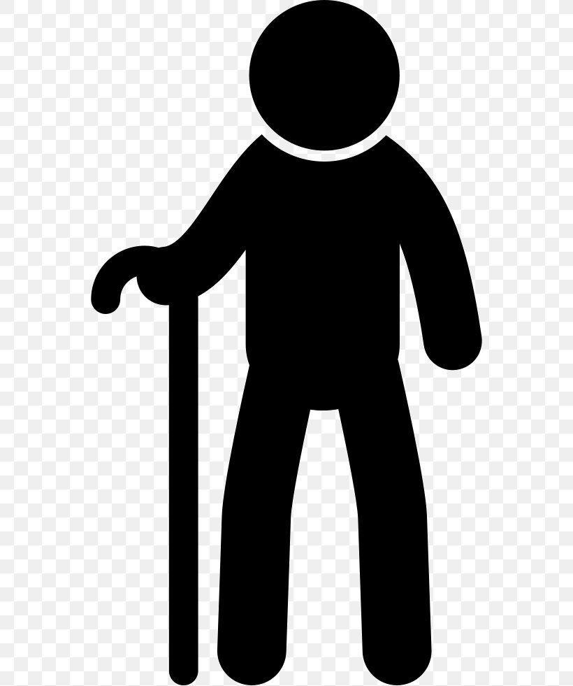 Old Age Walking Stick Clip Art, PNG, 560x981px, Old Age.