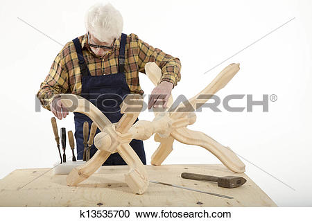 Stock Photography of OLD MASTER JOINER k13535700.