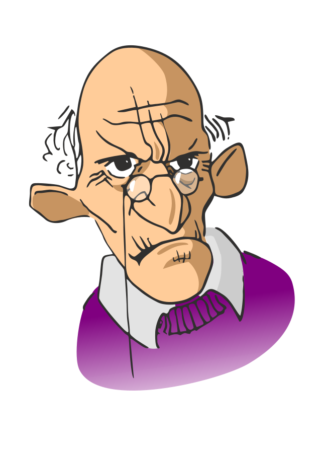 Free old man clipart clipartfest.