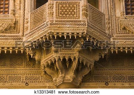 Stock Photography of Ornate Merchants House k13313481.