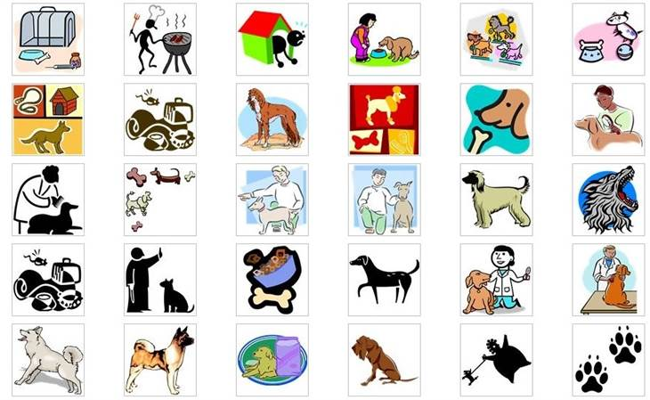 old microsoft clipart #3