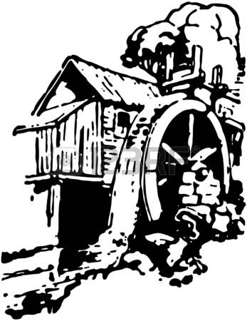 2,765 Old Mill Stock Vector Illustration And Royalty Free Old Mill.