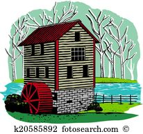 Old mill Clip Art Vector Graphics. 1,203 old mill EPS clipart.