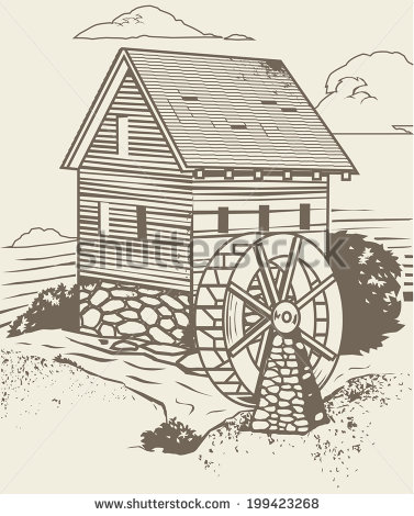 Old Mill Clipart (61+).