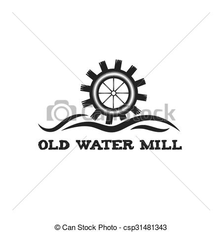 Old mill clipart.