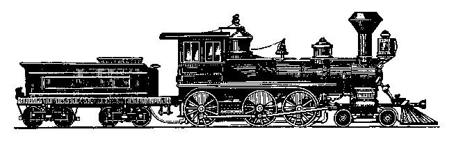 old trains clipart.