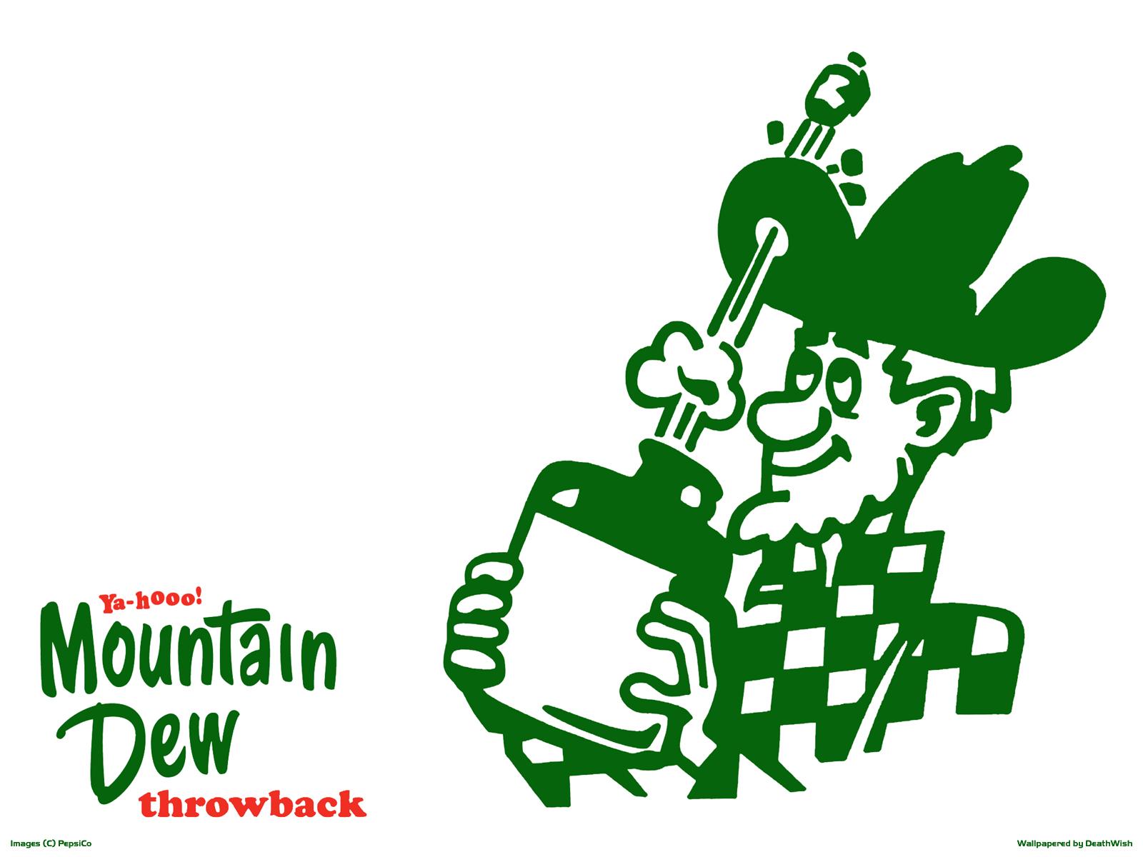 Old mountain dew Logos.