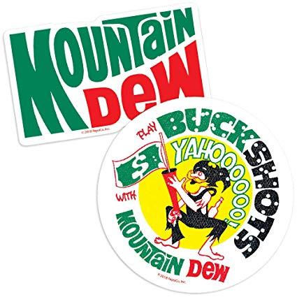 Amazon.com: Popfunk Mountain Dew Vintage Logo Collectible.