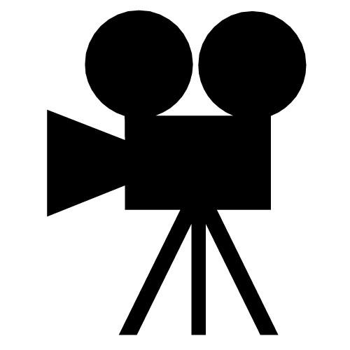 Old Movie Film Clip Art.