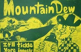 Image result for Mountain Dew Hillbilly Logo.