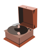 Vintage music free vector vector, free vector graphics.