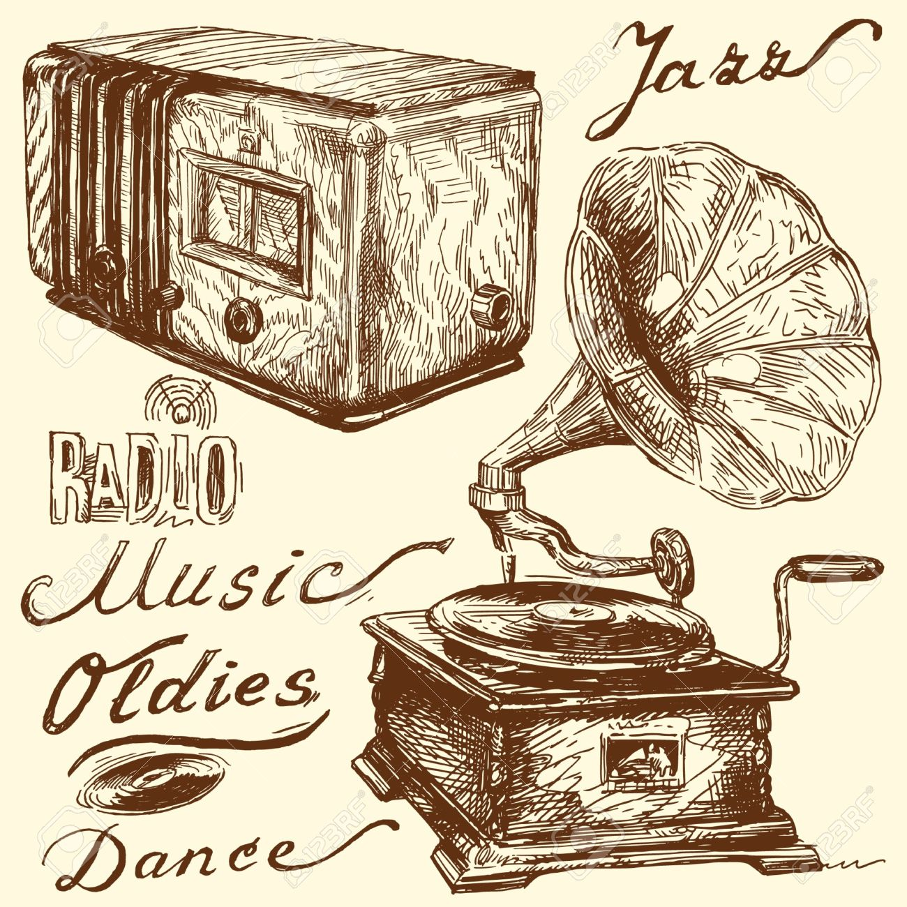 Music Doodles Royalty Free Cliparts, Vectors, And Stock.